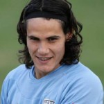 Edinson Cavani Long Hairstyles