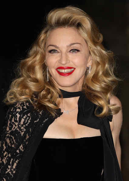 Madonna New Hairstyle 2018 Long Curly
