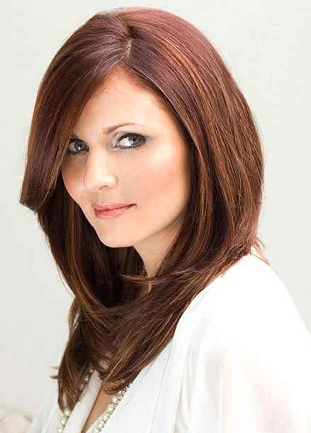 Haircuts For Round Faces And Thick Hair 2017