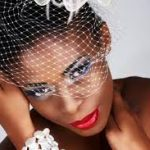 African American Wedding Hairstyles 2020 With Birdcage Veil