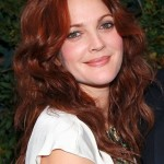 Drew Barrymore hairstyles 2017 and Hair color 04
