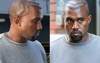 Kanye West New Haircut 2021 Pictures