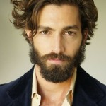 Short Length Mens Hairstyles With Beared