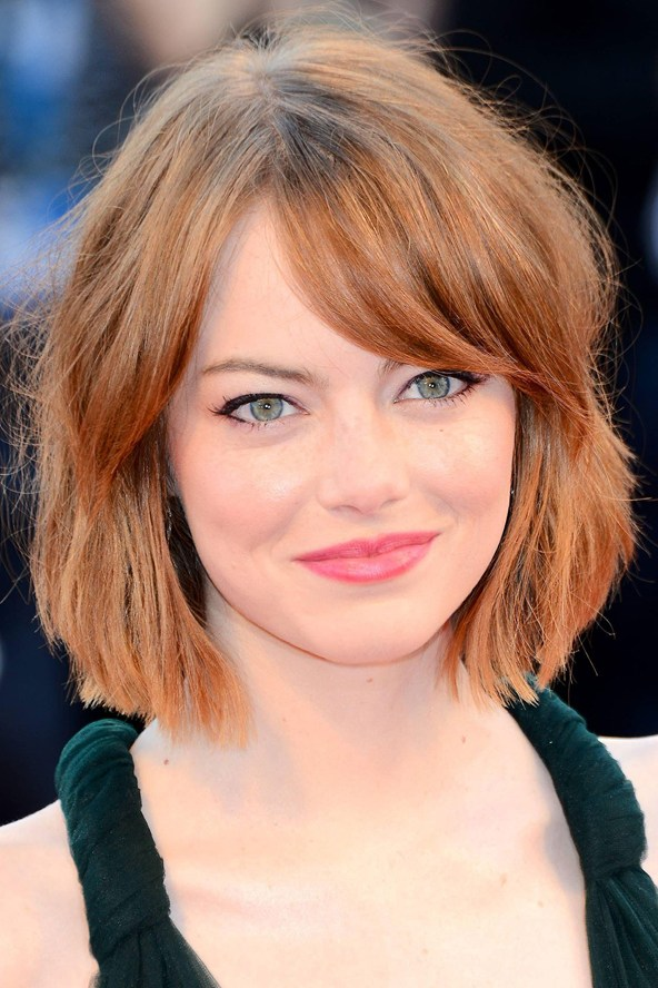 Celebrity Side Bangs Hairstyles 2018 Bob Hairs