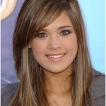Celebrity Side Bangs Hairstyles 2018