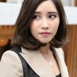 Korean Shoulder Length Hairstyles 2017006