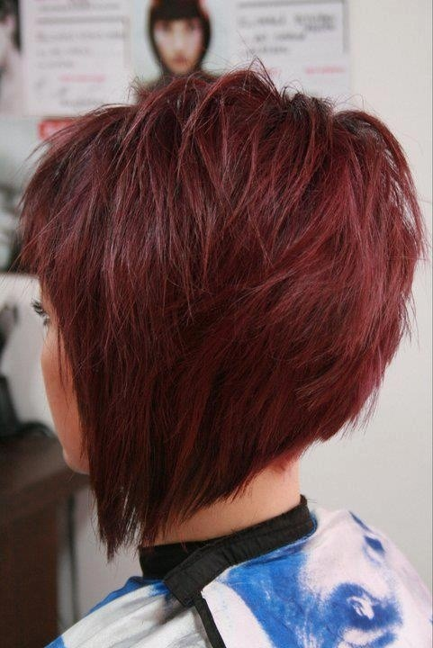 Short Bob Hairstyles 2017 With Bangs 0013
