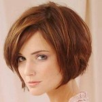 Short Bob Hairstyles 2017 With Bangs 0014