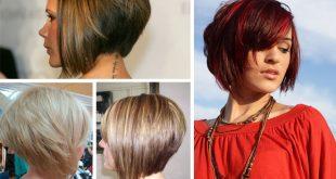 Short Bob Hairstyles 2017 With Bangs 003