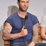 Adam Levine New Haircut Images Pictures Photos
