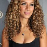 Blonde Highlights On Dark Brown Curly Hair