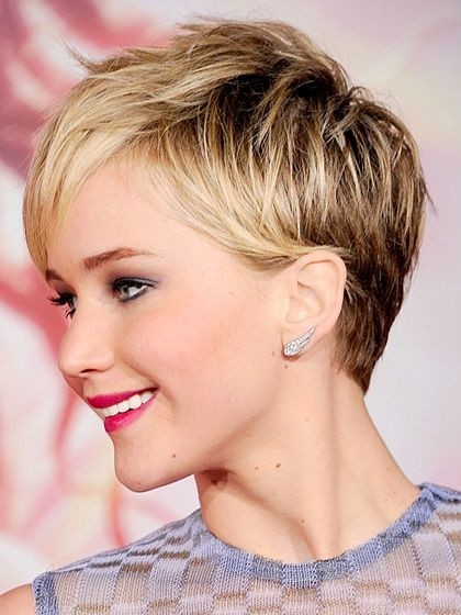 Casual Short Hairstyles 2018 For Fine Thick Hairs