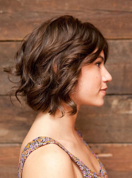 Casual Short Hairstyles 2018 For Fine Thick Hair