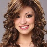 Curly Medium Hairstyles With Bangs 2018