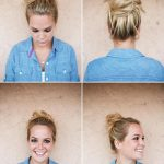 Cute Easy Messy Buns For Long Medium Hair