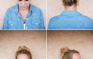 Cute Easy Messy Buns For Long Medium Hair