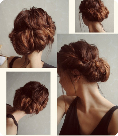 Cute Easy Messy Buns For Long Medium Hair005