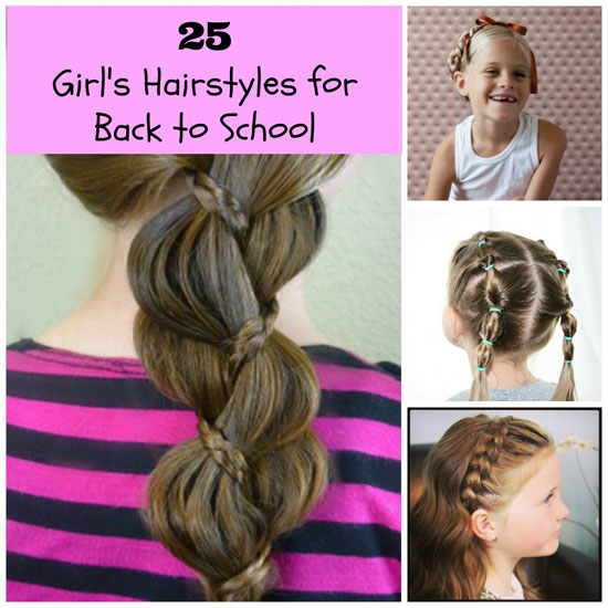 Different Hairstyles For School Everyday