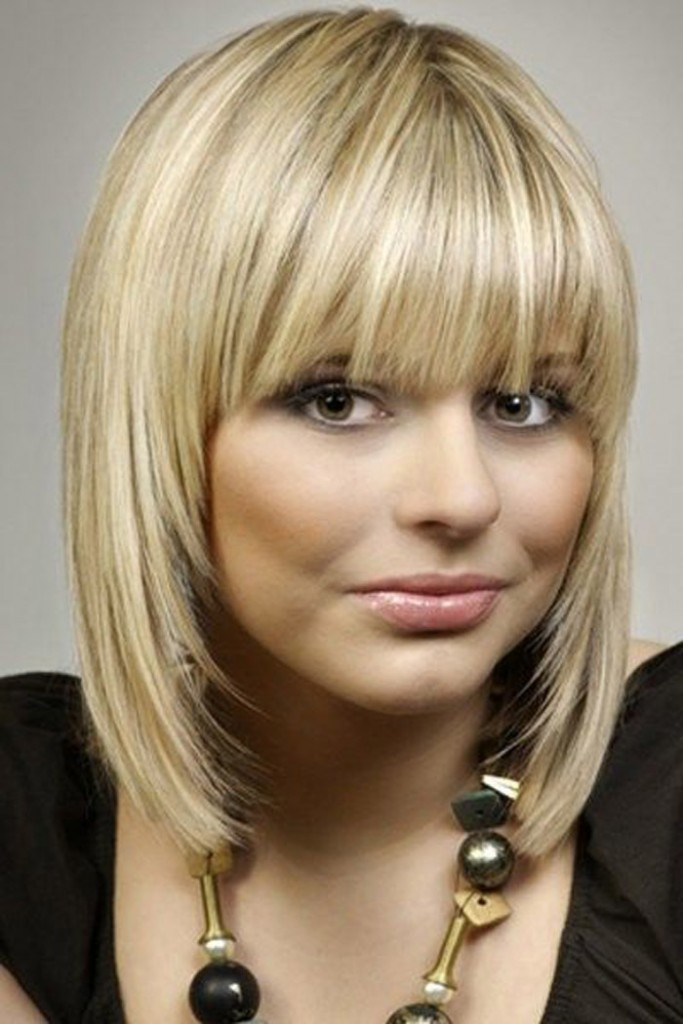 Medium Length Hairstyles With Bangs For Thin Hair   New ...