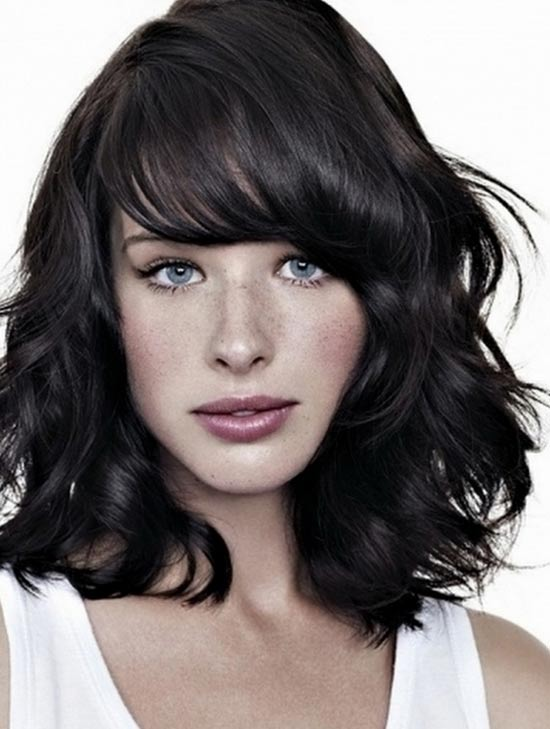 Medium Length Hairstyles With Bangs For Thin Hair | New ...