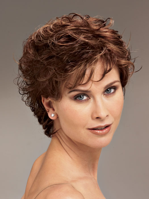 Women's Short Curly Hairstyles Over 40