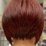 short layered bob hairstyles front and back view001