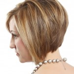 short layered bob hairstyles front and back view0012