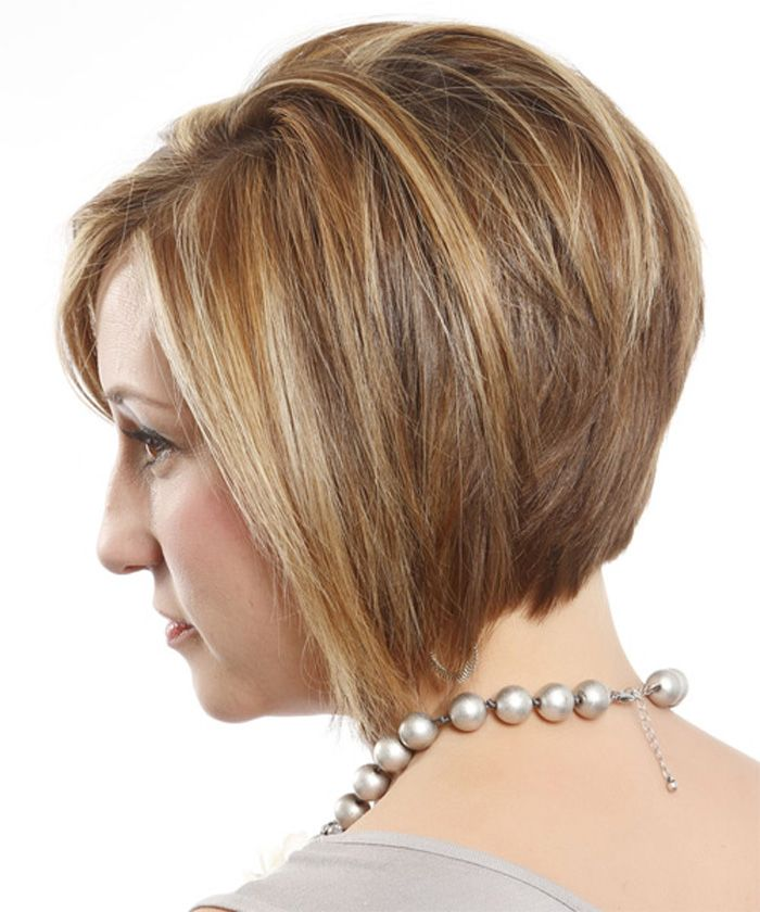 Short Layered Bob Hairstyles Front And Back View New Haircut For