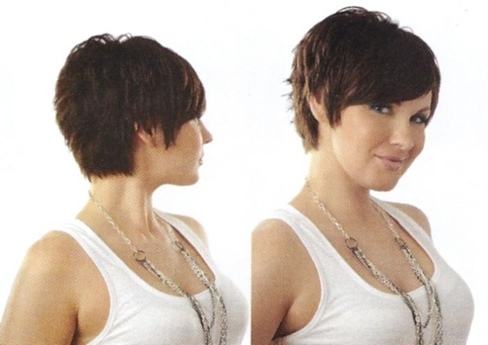 short layered bob hairstyles front and back view004