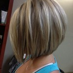 short layered bob hairstyles front and back view005