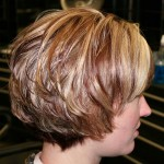 short layered bob hairstyles front and back view008
