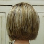 short layered bob hairstyles front and back view996