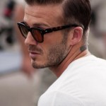 David Beckham Hair Slicked Back How To Style Pictures 9