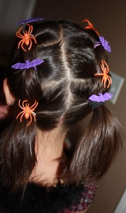 Easy Halloween hairstyles for kids 4