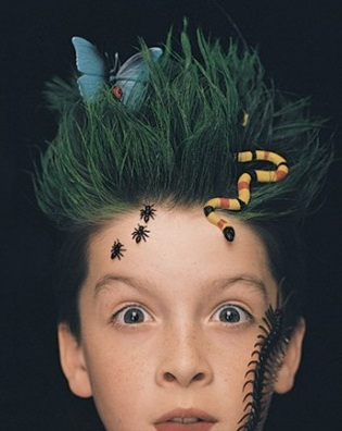 Easy Halloween hairstyles for kids 5