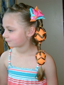 Easy Halloween hairstyles for kids 7