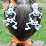 Easy Halloween hairstyles for kids 8