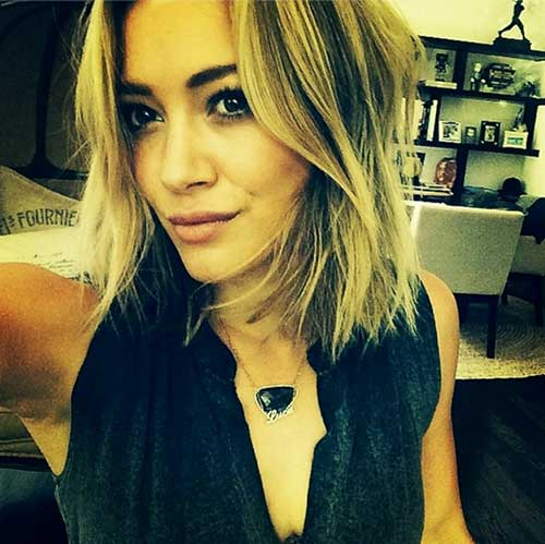 Hilary Duff Haircut 2017 Name Hair Color 1
