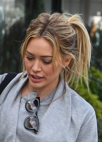 Hilary Duff Haircut 2017 Name Hair Color 9