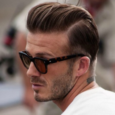 How To Get David Beckham Slicked Back Hair Style Picture