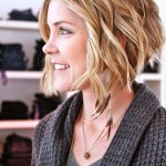 Low Maintenance Short Haircuts For Wavy Hair 0