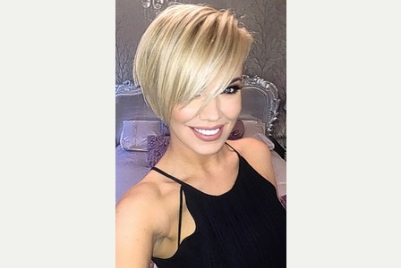 Maria Fowler Short Haircut 2020 Blonde Hair Color 9