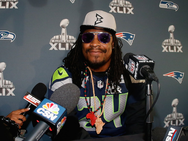 Marshawn Lynch Haircut 2018