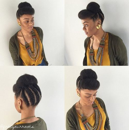 Quick And Easy Hairstyles For Short Natural African American Hair008