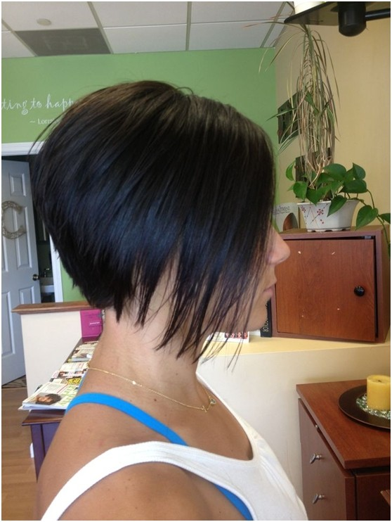 Short Stacked Haircuts 2018 For Thin Hair Pictures New Haircut For