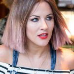 Caroline Flack Hairstyle 2017 Blonde Hair