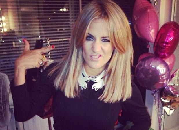 Caroline Flack Hairstyle 2017 Blonde Hair 5