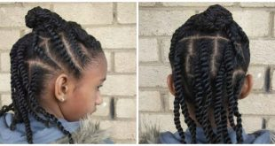 Flat Twist Hairstyles For Kids 0