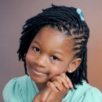 Flat Twist Hairstyles For Kids 1