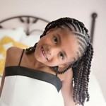 Flat Twist Hairstyles For Kids 2
